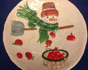 Hallmark Jan Karon Christmas Serving Plate