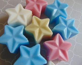 Star soaps for party favors (sets 60, 80, 100) twinkle twinkle little star
