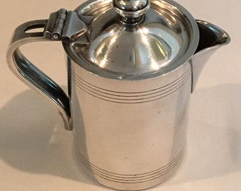 RW&S Silver Soldered 8 oz Cream Pitcher No 1939