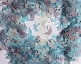 Blue and Grey Bird Dove Biodegradable Confetti - 1 litre - Fill up to 10 small Confetti Cones Eco Wedding