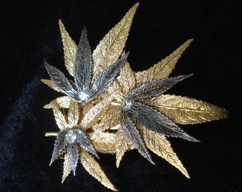 Antique French Brevete SGDG Scarf Clip Brooch
