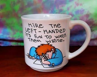funny Left-Handed Coffee Mug