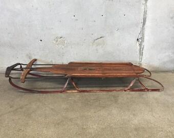 Vintage Flexible Flyer Sled (FL3KHB)