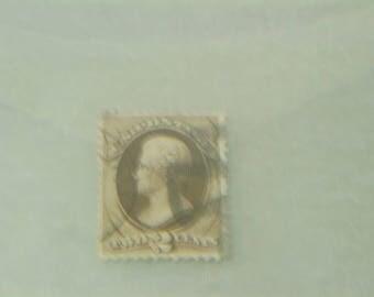 1873 US Stamp Scott# 157 Jackson 2 Cents