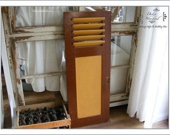 antique french window shutter