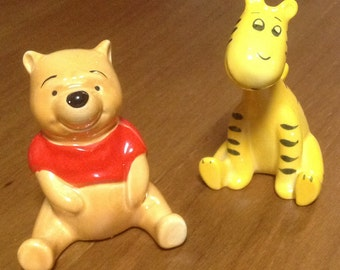 Vintage Beswick Winnie the Pooh and Tigger, vintage Beswick figurines, Disney Figurines, Pooh, Tigger, Winnie the Pooh, Disney Beswick