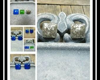 Memorial Ash Earrings/Memorial Earrings/Pet Memorial/Cremation Jewelry/28  color options/Cremation Earrings