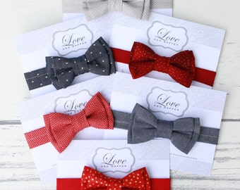 Boy Red Bow Tie, Valentine Red Bowties, Red  Bowties, Bow Tie, Bowties, red bow ties, red bowtie, boy red bowtie, cute little bowties
