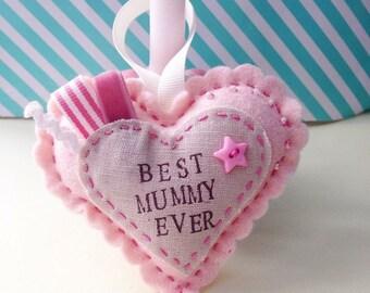 Mother's Day Love Heart Hanger