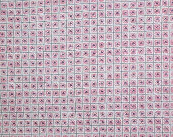 Mauve Pink, Pink Mauve, Pink Mauve with Hearts, Navy Blue and Mauve Hearts, Checkered Hearts, Quilting Fabric, Fabric, Quilts,