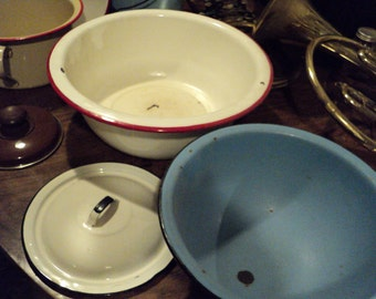 Enamelware and more.