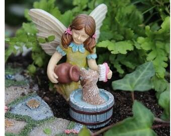 Fairy Garden  - Katie W/ Scruffy - Miniature