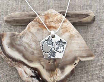 Honey Bee Fine Silver Pendant