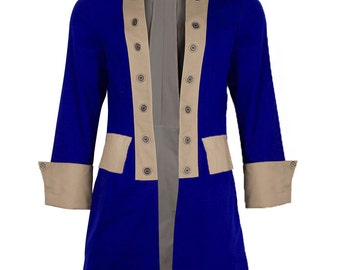 Don't Miss Your Shot with this Alexander Hamilton Adult Costume Coat, Perfect for recreating his iconic Look! Living History at its best!