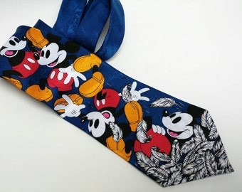 Vintage Disney Mickey Mouse tie