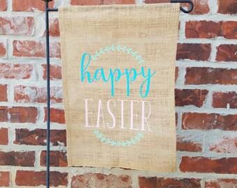 Happy Easter Garden Flag