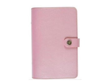 A7 pocket planner strap pink