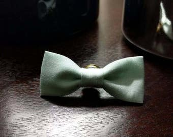 Mini Bowtie Lapel Pin- Mint