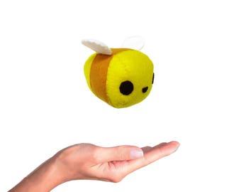 Mini Bee Sewing Pattern, Bee Pattern, Little Plush Bee, Stuffed Animal Tutorial, PDF Sewing Pattern, Little Bee Toy Sewing, Bumble Bee Toy