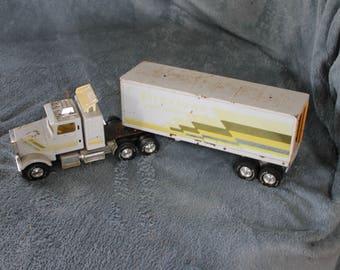 Vintage Collectible Truck, Semi-Tractor Trailer Truck, GREAT PRICE, Firestone Road Express, Children 10 & Up, Toy, Wheels Work
