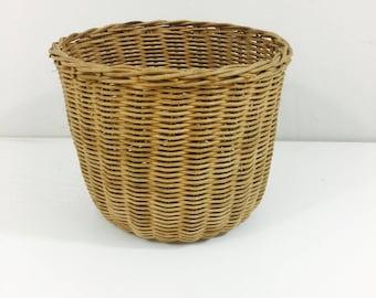 """Sweet Simple Wicker Planter Basket 6"""""""
