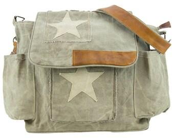 Sunsa woman Messenger bag crossbody bag canvas bag Artno.: 51427