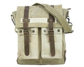 Sunsa woman Messenger bag cross body canvas bag Artno.: 51429