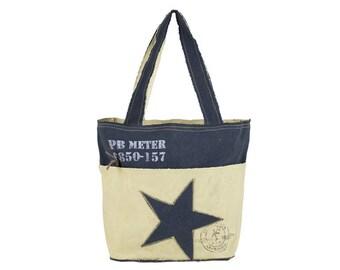 Sunsa woman Shopper Handbag canvas bag shoulder bag 51876