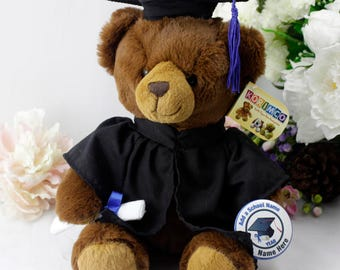 Personalised Plush Graduation Bear
