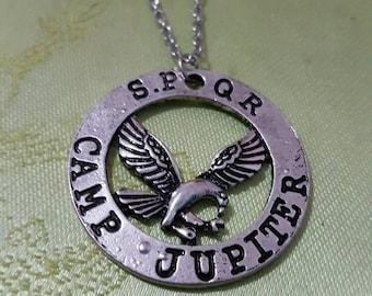 Camp Jupiter necklace demigod