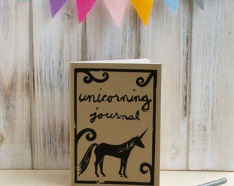 Unicorning Journal / Notebook / Sketchbook