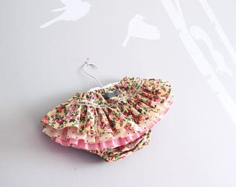 Floral Ruffle Bums