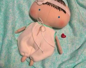 Reborn Dolls Baby girl Tilda Baby doll Bebe Reborns Baby shower gift Soft baby dolls Reborn toddler Baby girl gift Cloth dolls Handmade