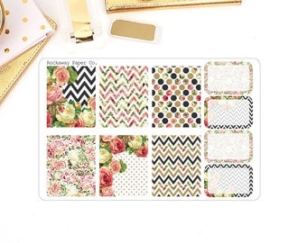 Floral Chic Box Stickers