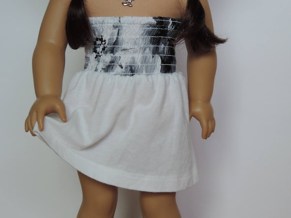 Shirred Sundress - 18 Inch Doll Clothes