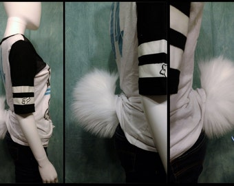 Solid Color Bunny Tail! *Made To Order*