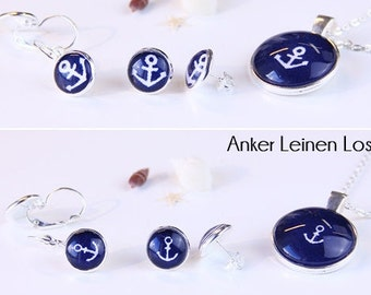 Fashion Jewelry -Anchor Blue-