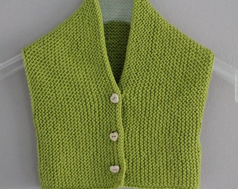 Baby vest | Knitted sweater vest -, 0-10 months