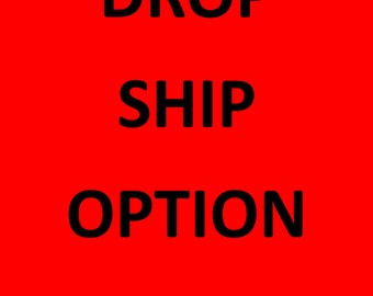 Drop Ship My Rain Jacket