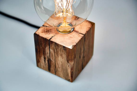 wooden table lamp with epoxy resin wooden lamp epoxy resin. Black Bedroom Furniture Sets. Home Design Ideas