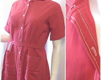 Countrywise MacShore Classics 50/60s Red Dress