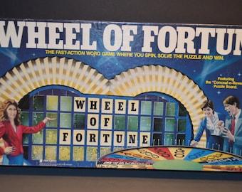 Vintage 1985 Wheel of Fortune  Pressman Board Game