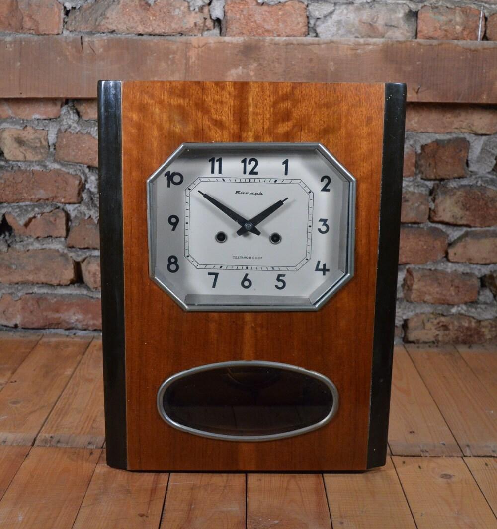 Working wall clock pendulum gong clock gong wall clock description working wall clock amipublicfo Images