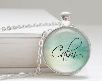 DISCONTINUED! Calm necklace - yoga - empowement - relax