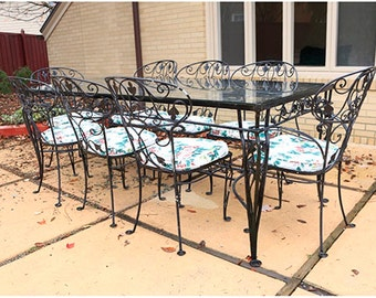 Vintage Salterini Wrought Iron Patio Set