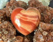 Mookaite HEART Crystal Perfect for Meditation, Healing Chakras Perfect Girlfriend Gift