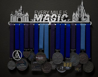 Every Mile Is Magic (large castle edition!) - Allied Medal Hanger Holder Display Rack