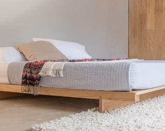 japanese fuji attic wooden bed frame by get laid beds - Wood Bed Frames