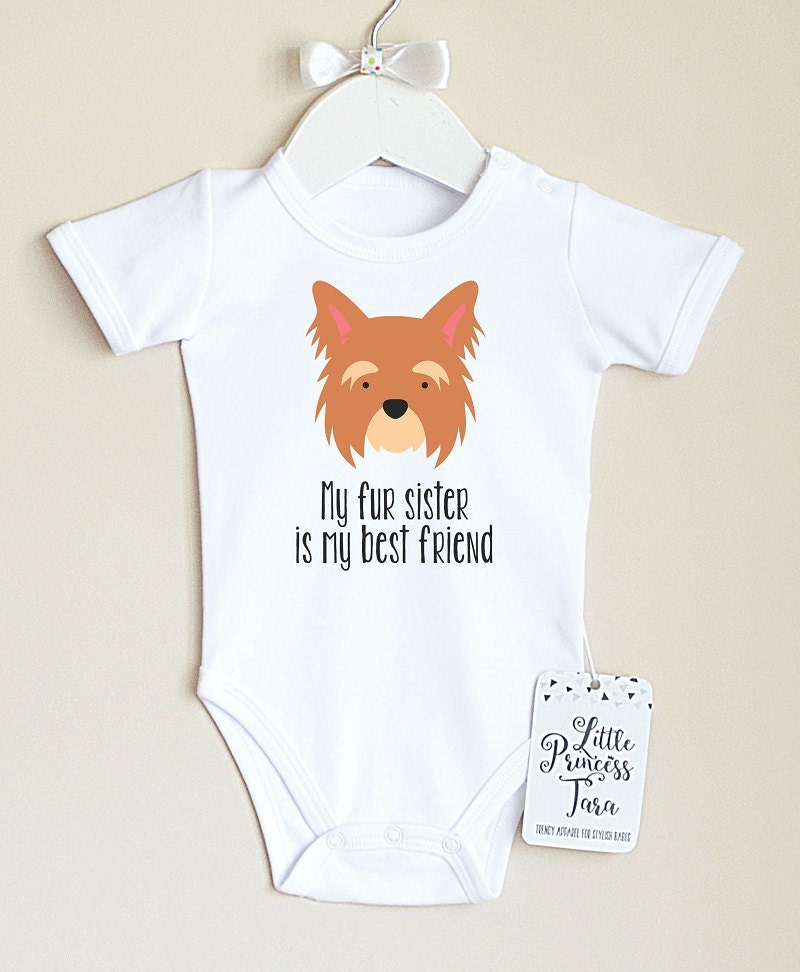 Dog baby clothes baby bodysuit with cute puppy print baby