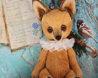 OOAK Jacques Fox Teddy Bear 11,4 inches